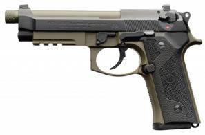 Beretta USA J92M9A32 M9A3 9mm Luger Single/Double 5.1 10+1 Black Polymer Gri - J92M9A32