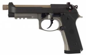 Beretta USA J92M9A34 M9A3 9mm Luger Single/Double 5.1 10+1 Black Polymer Gri - J92M9A34