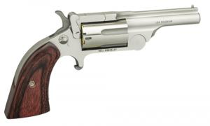 North American Arms (NAA) 22MBTII250 Ranger II 22 Mag 2.50 5 Round Chrome Rosewood Boot Grip Grip - NAA22MBTII250
