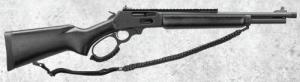 "Marlin 336 Dark .30-30 Win 16"" Black XS Lever Rail Large Loop - 70497"