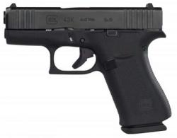 "Glock - G43X, 9mm, 3.39"" Barrel, AmeriGlo Night Sights, Black/Black, 10-rd - PX4350301AB"