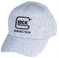 Glock Space Dye Hat Heather Gray Polyester Snapback - AS10072