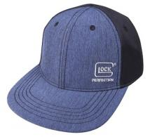 Glock Pro-Curve Hat Black/Navy Cotton/Mesh Velcro - AS10080