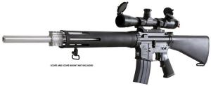 Armalite M15A4T 223 Remington Semi-Automatic Tactical Rifle - 15A4TBN
