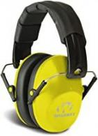Walkers GWPFPM1YL Pro Low Low Profile Folding Muff Earmuff 22 dB Yellow - 220