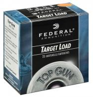 "Federal TG1228 Top Gun 12 GA 2.75"" 1 oz 8 Round 25 Bx/ 10 Cs - 10"
