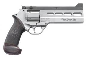 "Chiappa Firearms 340302 Rhino Match 38 Special 6 Round 6"" Gray PVD Aluminum Black Hogue Micarta Grip - 340302"
