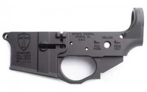 Spikes STLS022 Crusader Stripped AR-15 AR Platform Multi-Caliber Black Hardcoat - STLS022