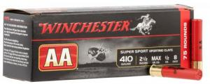 "Winchester Ammo AASC418D AA Sporting Clay .410 GA/.45 LC 2.50"" 1/2 oz 8 Round 75 Bx/ 2 Cs (Value Pack) - AASC418D"