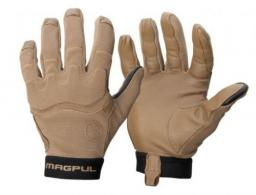 Magpul MAG1015-251 Patrol Glove 2.0 Coyote Nylon w/Leather Palms Small - MAG1015-251