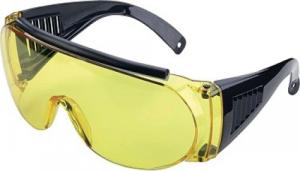 Allen 2170 Over Shooting & Safety Glasses Yellow Black - 2170