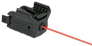 "LaserMax SPS-R Spartan Red Laser 650nm Minimum 1"" Picatinny/Weaver Rail Blk"