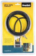 SnapSafe 75282 Padlock 10' Cable - 75282
