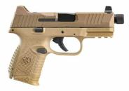 FN HERSTAL 66100780 509C Tactical 9mm 4.32 12+1 15+1 24+1 Flat Dark Earth - 66100780