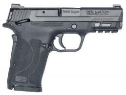 "Smith & Wesson 13001 M&P 9 Shield EZ M2.0 9mm 3.60"" 8+1 Black Polymer Grip Manual Thumb Safety Night Sights - 13001"