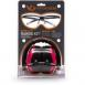 Pyramex VGCCOMBO8617 Ever Lite Range Kit Earmuff/Shooting Glasses 26 dB Black/P - VGCCOMBO8617