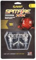 Walkers NAP-60-146 Spitfire XXX X-Bow 100 grain Broadhead 3 Pack - NAP-60-146