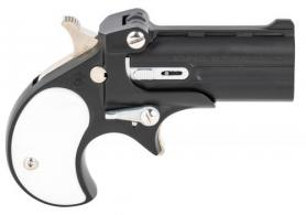 "Cobra Firearms PISTOL/BEARMAN IND CL22MBP 22 Mag 2.4"" 2rds Black with Pearl Grips - CL22MBP"