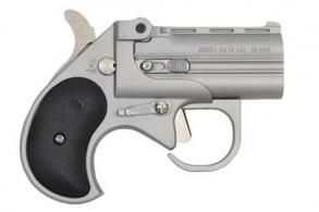 "Cobra Firearms PISTOL/BEARMAN IND BBG38SB .38 Spc 2.75"" 2rds Satin Nickel W/Black Grips - BBG38SB"