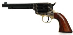 TRI-STAR SPORTING ARMS Stallion Revolver w/Walnut Grips & Case Blue Hardene - 88175