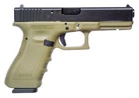 Glock 19 10 + 1 Round Double Action Only 9MM w/Fixed Sights & O