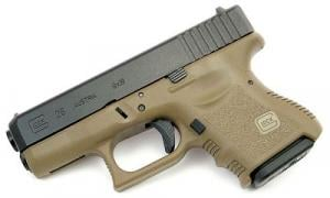 Glock 26 9mm 10 Rnd Fixed Sights OD Green