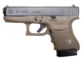 Glock 36 .45 ACP Fixed Sights OD Green 45ACP - PI36572