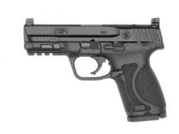 "Smith & Wesson 13143 M&P 9 M2.0 Compact 9mm 4"" 15+1 Optic Ready Black Armornite Stainless Steel Slide Black Polymer Grip N - 13143"