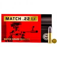GECO 235940050 22LR 22 Long Rifle Match 40 GR 50 Bx/100 Cs - 235940050