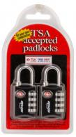 SKB 1SKBPDL Combination Lock 2 Pad Lock Black - 1SKBPDL