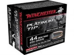 Winchester 500 Smith & Wesson 400 Grain  Platinum Tip Hollow - S500PTHP