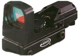 Adco Black Solo Electronic Multi Reticle Red Dot Sight - SOLO