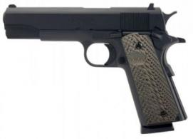 Llama LM138SB 1911 Max-I Single 38 Super 5 9+1 MAC Logo Blued - LM138SB