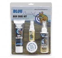 Blue Wonder Kit w/Gun Cleaner/Degreaser/Lubricant & Wax - BWGCKS