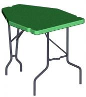 MTM Forest Green Shooting Table - PST-01