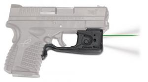 Crimson Trace LL802GHBT Laserguard Pro Green Laser/White Light Springfield XDS - 313