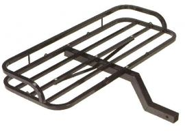 San Angelo Black Steel Hitch Hauler Rack - 11500