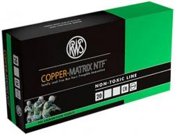 RWS 222340020 Copper Matrix 223 Remington/5.56 NATO 37 GR Non-Toxic 20 Bx/ Cs