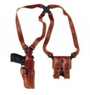 Galco Vertical Shoulder Holster System For Ruger SP101 & Col