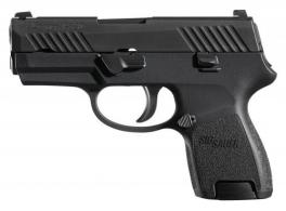 "Sig Sauer 320SC40BSS P320 Subcompact Double Action 40 Smith & Wesson (S&W) 3.6"" 10+1 Polymer Grip Black"