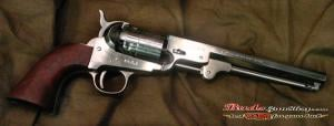 Traditions 1851 Navy Black Powder Revolver 44cal 7 Octagonal