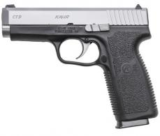 "Kahr Arms CT9093N CT9 Double 9mm 3.9"" 8+1 Black Polymer Grip/Frame Stainless - CT9093N"