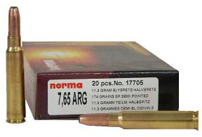 Norma 7.7 MM x 58 MM Japanese 174 Grain Soft Point 20/Box - 17725