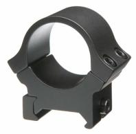 B-Square Black Aluminum Weaver Style Scope Rings - 20054