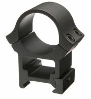 B-Square Black Aluminum Weaver Style Scope Rings - 20056