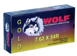 Wolf 7.62X54 Russian 150 Grain Full Metal Jacket - G54RFMJ1