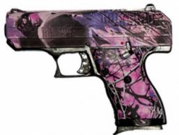 "Hi-Point CF380PI Pink Camo Double 380 Automatic Colt Pistol (ACP) 3.5"" 8+1 3-Do - CF380PI"