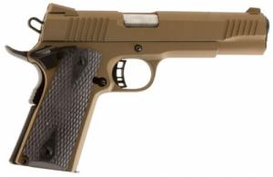 Citadel C9MMFS148H00 M-1911 Government Full Size SAO 9mm 5 9+1 Hogue Grip Burn - C9MMFS148H00