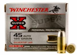 Winchester Ammo X45ASHP2 Special Buy 45 Automatic Colt Pistol (ACP) 185 GR Silv - X45ASHP2