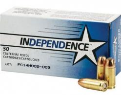 Independence 9mm 115gr JHP 50 rd box - 5247